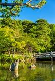 Parco di Maruyama a Kyoto, Giappone Fotografie Stock