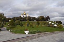 Parco di millennio di Yaroslavl Fotografie Stock Libere da Diritti