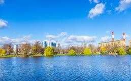 Parco di Novodevich, Mosca immagine stock libera da diritti