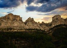 Parco di Ordesa y Monte Perdido National, Huesca, l'Aragona, Spagna immagini stock libere da diritti