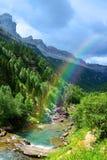 Parco di Ordesa y Monte Perdido National, Huesca, l'Aragona, Spagna fotografie stock