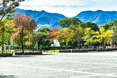 Parco di pace di Nagasaki immagine stock