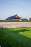 Parco di Pechino il tempio del cielo Fotografia Stock Libera da Diritti