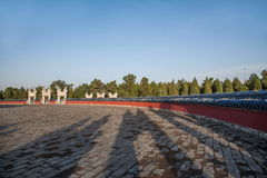 Parco di Pechino il tempio del cielo Immagine Stock