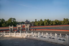 Parco di Pechino il tempio del cielo Immagine Stock Libera da Diritti