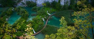 Parco di Plitvica.National Fotografia Stock Libera da Diritti