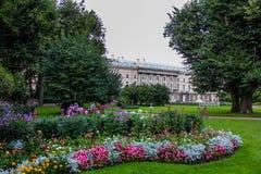 Parco di Pushkin Immagine Stock
