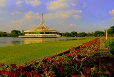 Parco di Rama 9, Bangkok, Tailandia Fotografia Stock Libera da Diritti