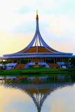 Parco di rama 9 di Suanluang, Bangkok Immagine Stock