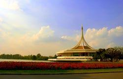 Parco di rama 9 di Suanluang, Bangkok, Tailandia Fotografia Stock Libera da Diritti