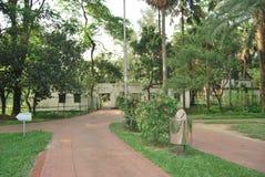 Parco di Ramna al centro di Dacca immagine stock