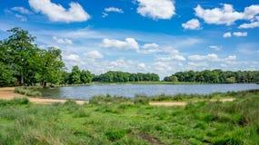 Parco di Richmond un giorno soleggiato fotografia stock libera da diritti