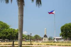 Parco di Rizal Luneta, Manila, Filippine fotografia stock libera da diritti