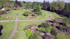 Parco di Roseraie a Nantes in fuco archivi video