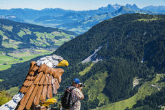 Parco di scoperta di Alpinolino, Tirolo, Austria immagine stock