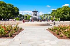 Parco di scultura di Vigeland, Oslo Immagini Stock Libere da Diritti
