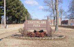 Parco di Shadowlawn, Bartlett, Tennessee fotografia stock
