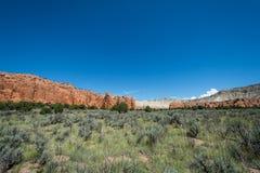 Parco di stato del bacino di Kodachrome, Utah, U.S.A. immagine stock