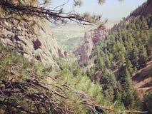 Parco di stato del canyon di Eldorado fotografia stock libera da diritti