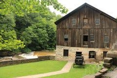Parco di stato del mulino di McConnells - Portersville, Pensilvania fotografie stock libere da diritti
