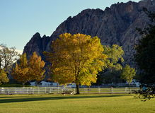 Parco di stato del ranch della montagna della primavera immagini stock