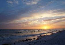 Parco di stato dell'isola di luna di miele, Florida Fotografie Stock