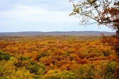 Parco di stato della contea di Brown fotografie stock libere da diritti