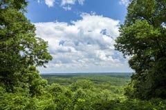 Parco di stato della contea di Brown, Indiana, U.S.A. fotografia stock libera da diritti