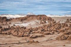 Parco di stato della valle del folletto, U.S.A. fotografia stock libera da diritti