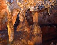 Parco di stato delle caverne di Rickwood 6 - AL del guerriero fotografie stock