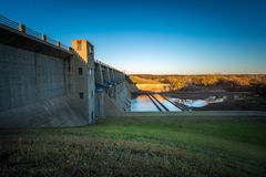 Parco di stato di Fall River Kansas Fotografie Stock