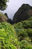 Parco di stato di Iao, Maui Fotografie Stock Libere da Diritti