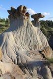 Parco di stato di Makoshika, Montana Immagine Stock Libera da Diritti
