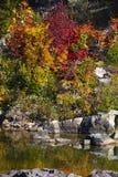 Parco di stato di reclusione di Johnson in autunno fotografia stock libera da diritti