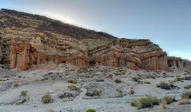 Parco di stato rosso del canyon della roccia, California Fotografia Stock Libera da Diritti
