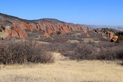 Parco di stato di Roxborough, Colorado Immagine Stock Libera da Diritti