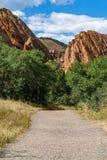 Parco di stato di Roxborough Denver Colorado fotografie stock libere da diritti