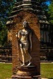 Parco di storia di Sukothai Fotografia Stock