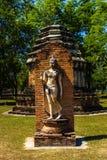 Parco di storia di Sukothai Fotografie Stock
