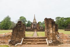 Parco di storia di Sukhothai Immagini Stock Libere da Diritti