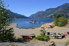 Parco di Strathcona, isola di Vancouver, BC Canada Fotografie Stock