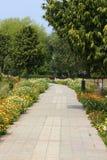 Parco di Swarn Jayanti, Rohini, Nuova Delhi, India Immagine Stock