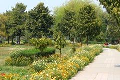 Parco di Swarn Jayanti, Rohini, Nuova Delhi, India Fotografia Stock Libera da Diritti