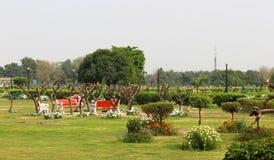 Parco di Swarn Jayanti, Rohini, Nuova Delhi, India immagine stock libera da diritti