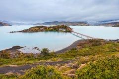 Parco di Torres del Paine Fotografia Stock Libera da Diritti