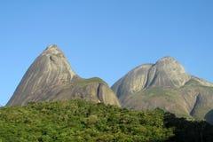 Parco di Tres Picos, foresta pluviale atlantica, Brasile Immagini Stock