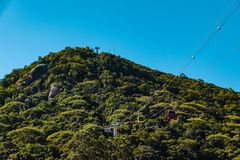 Parco di Unipraias in Balneario Camboriu, Santa Catarina, Brasile immagini stock