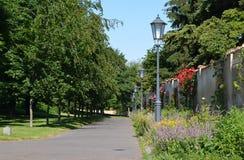 Parco di Vysehrad Immagine Stock Libera da Diritti