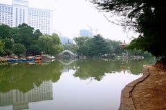 Parco di Xiyuan, Luoyang Fotografie Stock Libere da Diritti