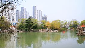 Parco di Xiyuan, Luoyang Fotografia Stock Libera da Diritti